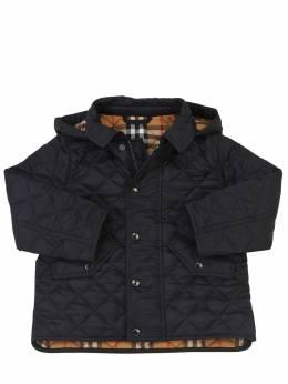 Куртка Из Нейлона С Капюшоном Burberry 69I937002-TkFWWQ2