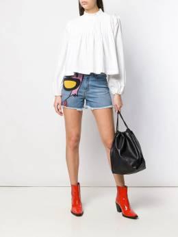 Ermanno Scervino - джинсовые шорты с принтом 3P306AHK936503850000