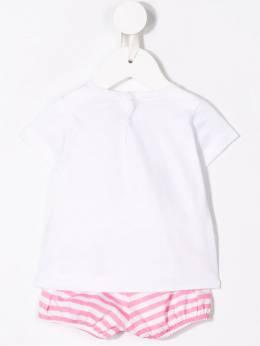 Il Gufo - комплект из футболки и шортов в полоску DP039M96639388009600