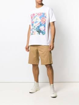 Junya Watanabe MAN - футболка с графичным принтом 606S9993903386000000