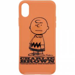 Marc Jacobs Orange Peanuts iPhone XS Case 192190F03200601GB