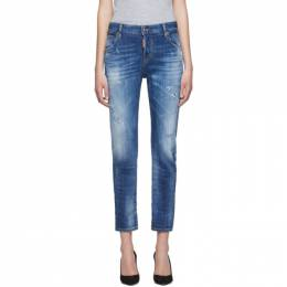 Dsquared2 Blue Cool Girl Jeans 192148F06900606GB