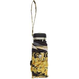 Versace White and Gold Barocco Umbrella 192404F03500101GB