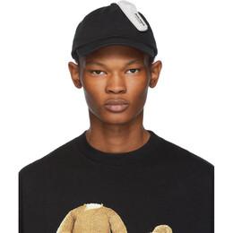 Palm Angels Black Anti-Theft Cap 192695M13900401GB