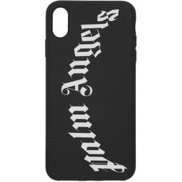 Palm Angels Black Arch Logo iPhone XS Max Case 192695F03200301GB