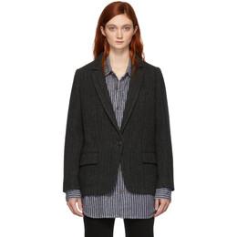 Isabel Marant Etoile Black Charly Boyish Blazer 192599F05700202GB