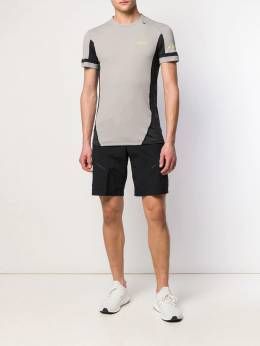 Ea7 Emporio Armani - спортивная футболка с контрастными вставками T39PJU3Z939363950000