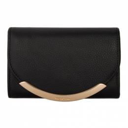 See By Chloe Black Lizzie Compact Wallet 192373F04000701GB