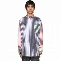 Charles Jeffrey Loverboy Multicolor Striped Colorblock Shirt 192101M19200104GB