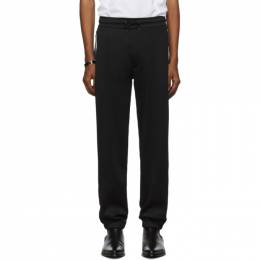 Givenchy Black Pique Lounge Pants 192278M19000303GB