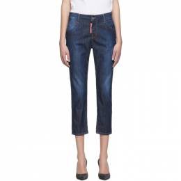 Dsquared2 Blue Perfection Wash Cool Girl Jeans 192148F08700103GB