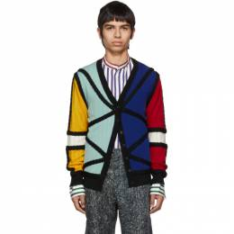 Charles Jeffrey Loverboy Multicolor Lord Of The Flies Cardigan 192101M20000104GB