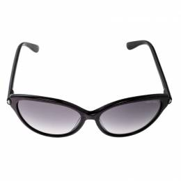 Tom Ford Black/ Black Gradient TF342 Priscila Cat Eye Sunglasses 134084