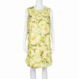 Giambattista Valli Multicolor Floral Print Sleeveless Dress M 126801