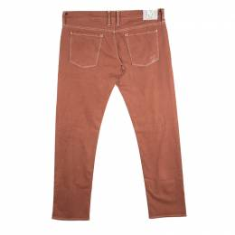 M Missoni Burnt Orange Denim Straight Fit Jeans L