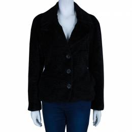 See By Chloe Black Textured Jacket S 45806