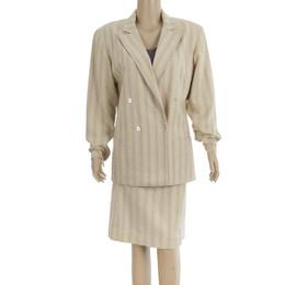 Dior Separates Skirt Suit M