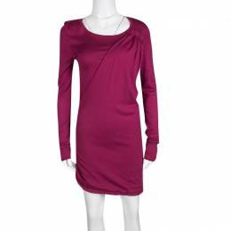 Marc By Marc Jacobs Vineyard Knit Draped Pleat Detail Ruched Sweater Tunic  M 135431