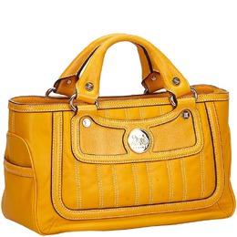 Celine Orange Leather Boogie Bag 147774