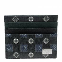 Dolce&Gabbana Green Gift Box Set (Card Holder, iPhone 5 Case and Key Holder)