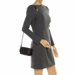 Tory Burch Black Leather Mini Flap Crossbody Bag 193903