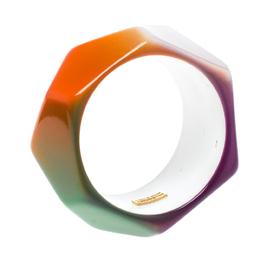 Missoni Multicolor Geometric Wide Cuff Bangle Bracelet 152686