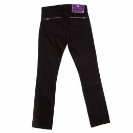 Victoria Beckham Black Slim Fit Denim Jeans S 162718