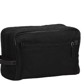 Gucci Black Nylon Clutch Bag