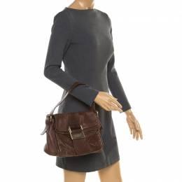 Givenchy Brown Leather Shoulder Bag 178630