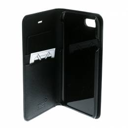 Montblanc Black Leather Flipside iPhone 8 Case 192886