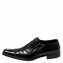 Moreschi Black Leather Oxford Size 42.5 198635