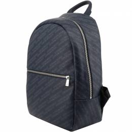 Emporio Armani Navy Signature Fabric Backpack
