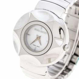 Nina Ricci White Mother of Pearl Stainless Steel N024.12 Women's Wristwatch 30 mm 148479