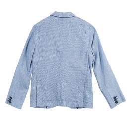 Cesare Paciotti Blue Pinstripe Blazer 8 Yrs 56010