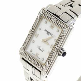 Raymond Weil Mother of Pearl Stainless Steel Diamonds Parsifal 9731 Women's Wristwatch 22 mm 183849