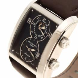 Raymond Weil Black Stainless Steel Don Giovanni Men's Wristwatch 35MM 149342