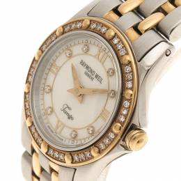Raymond Weil Mother of Pearl Tango Stainless Steel Women's Wristwatch MM 110418