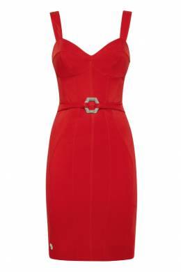 Красное платье Elegant Philipp Plein 1795136853