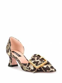 Rochas - туфли с леопардовым узором 0065D699509565695900