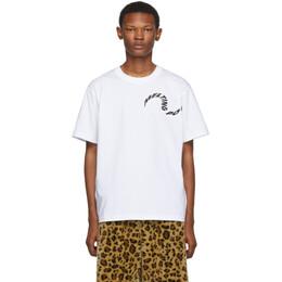 Sacai White Melting Pot T-Shirt 192445M21300102GB