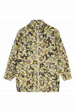 Легкая куртка с ярким принтом Stella McCartney Kids 1334136940