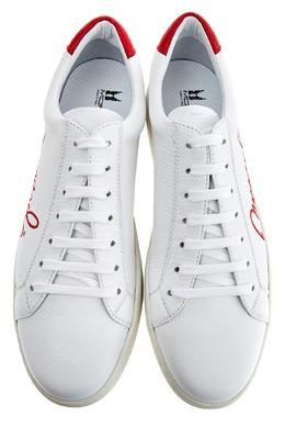 Белые кеды с вышивкой Moreschi 2315137083