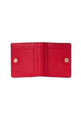 Красный кошелек с логотипом Furla 1962135327