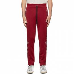 Amiri Red Souvenirs Lounge Pants 192886M19000103GB
