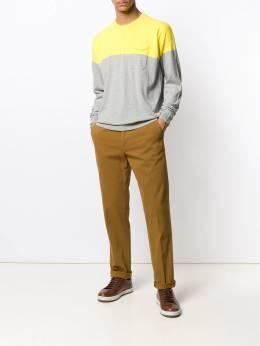 Roberto Collina - свитер в стиле колор-блок 06699560635500000000