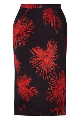 Асимметричная юбка с цветочным принтом No. 21 35137562