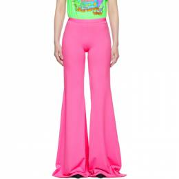 Vetements Pink Evening Bootcut Trousers 192669F08700303GB
