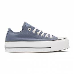 Converse Blue Chuck Taylor All Star Lift Sneakers 192799F12801309GB