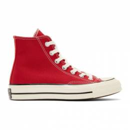 Converse Red Chuck 70 High Sneakers 192799F12701308GB