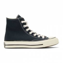 Converse Navy Chuck 70 High Sneakers 192799F12701102GB